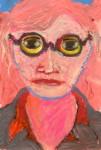 """Self Portrait, Newfoundland, September 2010"", 5 1/4""w x 7 1/4""h"