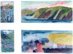 """Trinity, Newfoundland"", watercolour on paper"