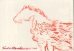 """Horse #6"", watercolour"