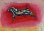 """Horse #8"", watercolour"